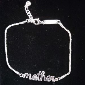 "Ashley Bridget ""Mother""  sterling silver bracelet"